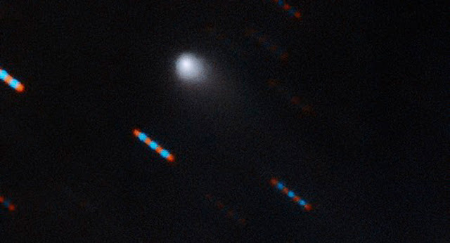 Cometa misterioso se aproxima de Marte