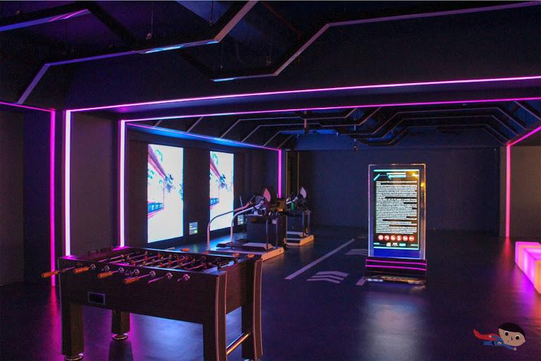 Ski Rodeo of The Garage: VR Zone