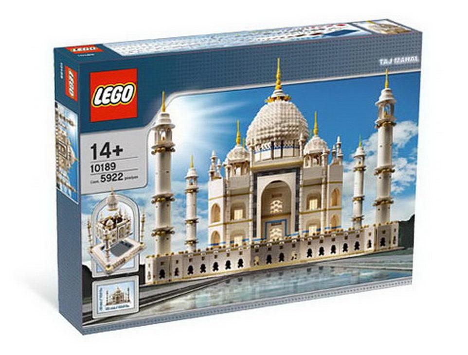 Brick Box Art: LEGO 10189 Taj Mahal