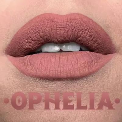 kat von d Everlasting Liquid Lipstick lip swatch ophelia
