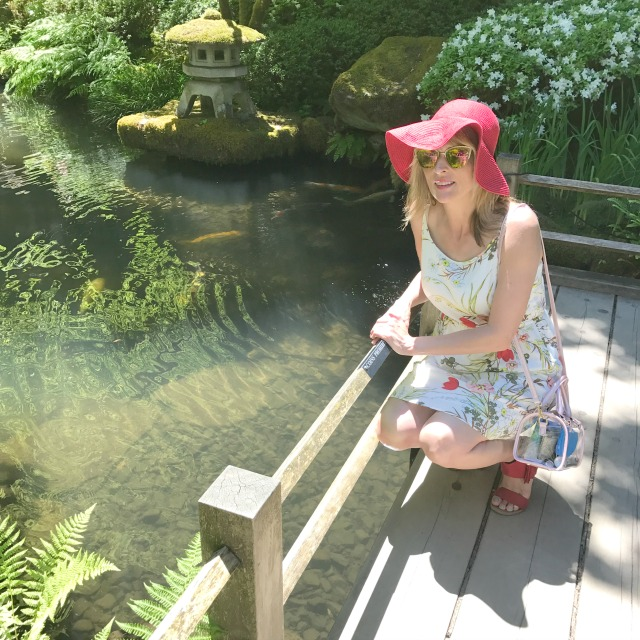 a day at the portland japanese garden