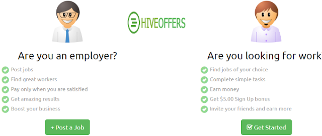 Crowd sourcing website Hiveoffers