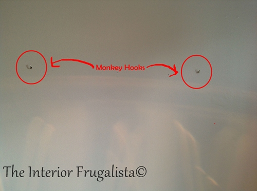 Hang DIY Fabric Magnetic Bulletin Board With Monkey Hooks