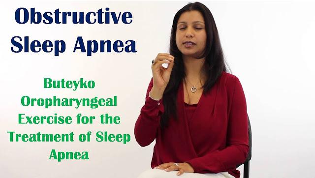 Obstructive Sleep Apnea | Buteyko Oropharyngeal Exercise for the Treatment of Sleep Apnea
