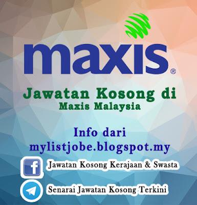 Jawatan Kosong di Maxis