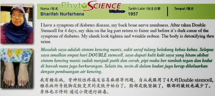 Stem Cell Malaysia Phytoscience Double Stem Cell