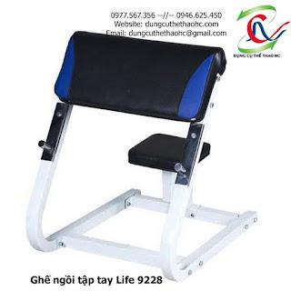 Ghế ngồi tập tay Life 9228