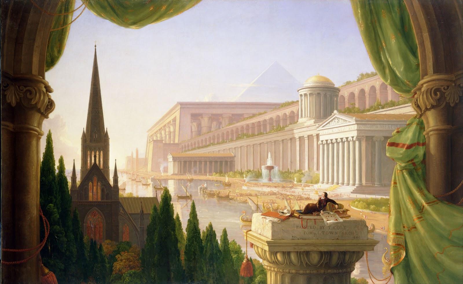 Thomas Cole The Architects Dream  Toledo Museum of Art