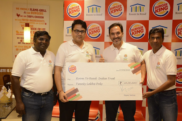 Burger-King-India-partners-with-Room-to-Read-India-for-Girl-Education-Program