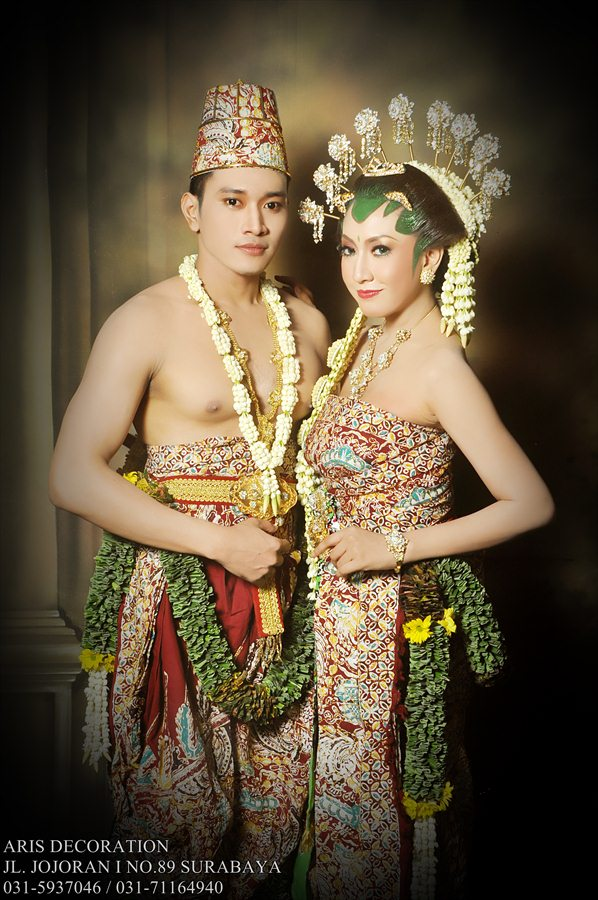Asian Wedding Dress Indonesia