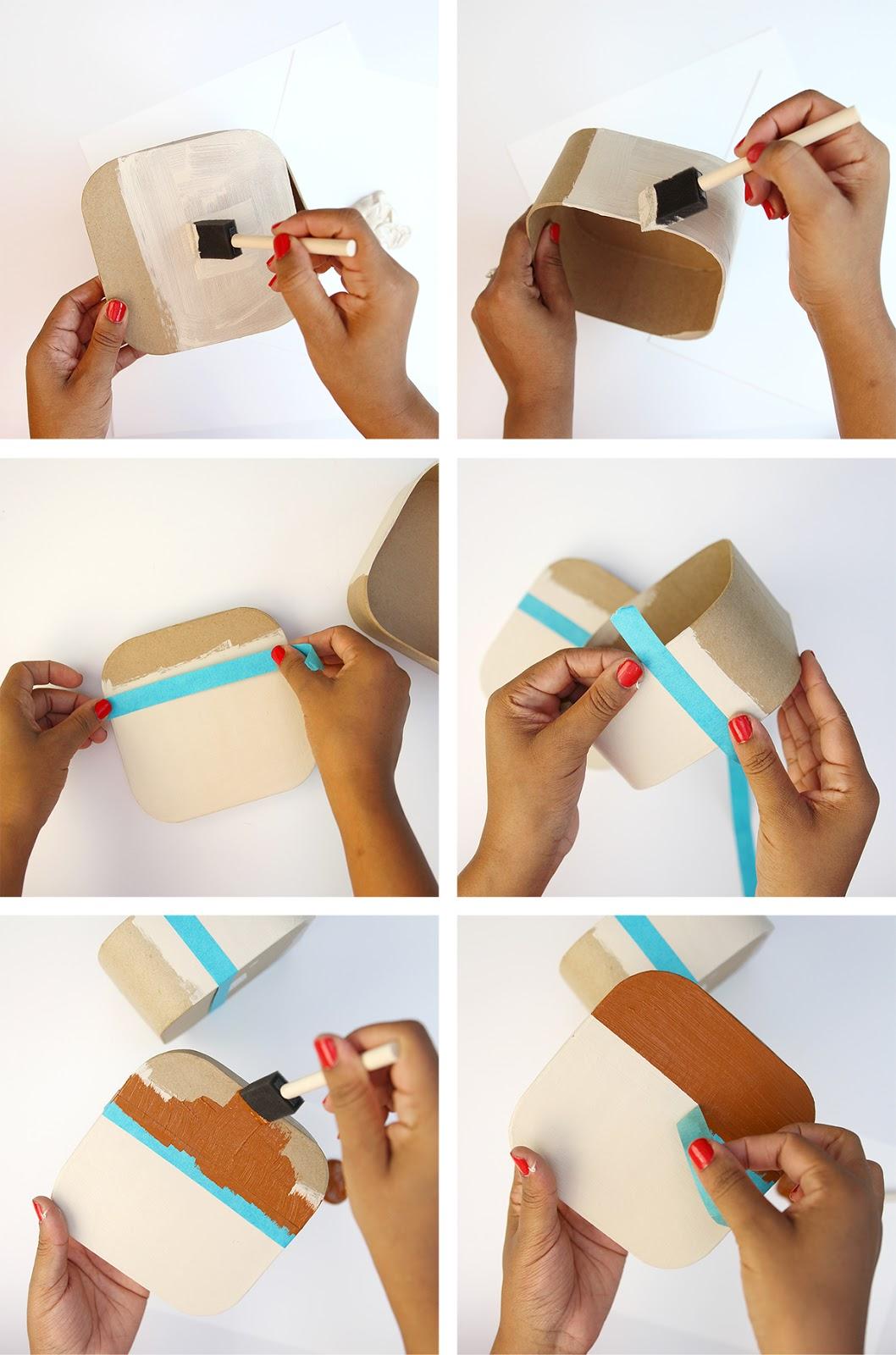 DIY Caixinha para fotos Instagram
