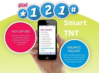 Smart and TNT dial *121#