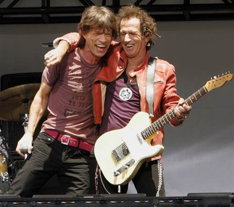 Music N' More: Jagger and Richards aka The Glimmer Twins