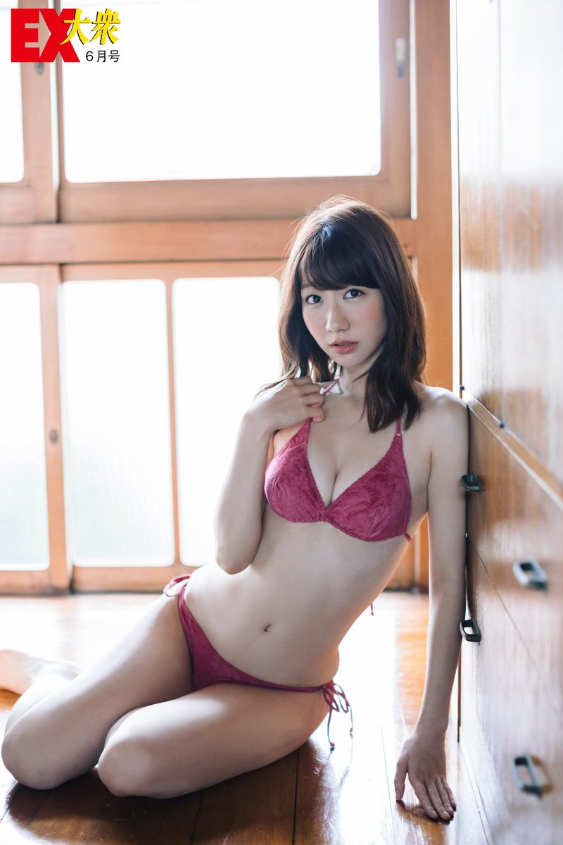 Kashiwagi Yuki 柏木由紀 AKB48, Ex-Taishu 2017.06 (EX大衆 2017年06月号)
