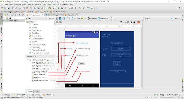 Membuat Aplikasi Menghitung Luas dan Keliling Persegi Panjang Dengan Android Studio
