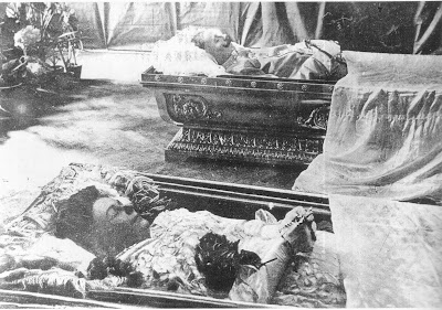 Archduke Franz Ferdinand Lies In An Open Coffin Beside His Wife Sophie