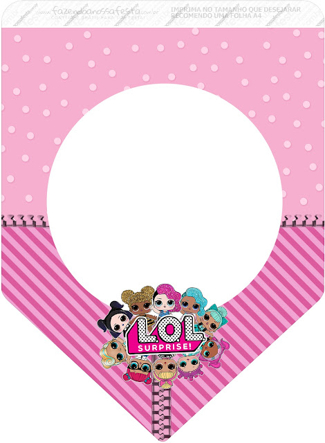 LOL Surprise Free Printable Bunting or Banners.