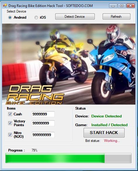 DRAG RACING BIKE EDITION HACK CHEATS