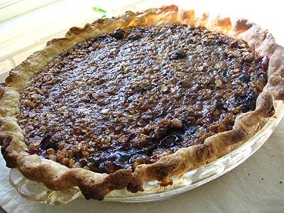 Concord Grape Pie