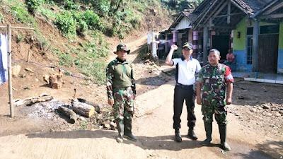 Buka Akses Terisolir Dua Desa, TMMD Garap Jalan Tembus 1,7 Km