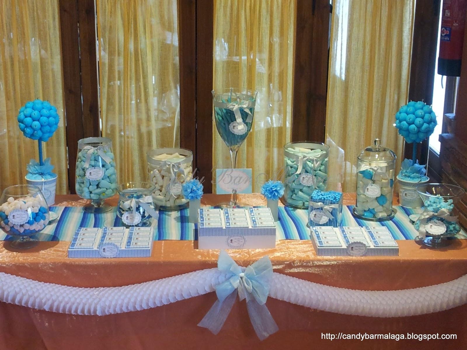 Decoracion mesas dulces para comunion - Adornos mesa comunion ...