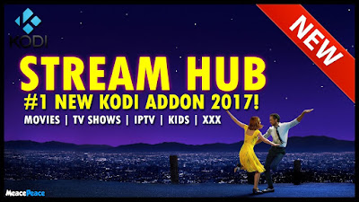 Steps Install Stream Hub addon Kodi 17 Crypton