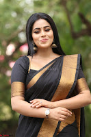 Poorna in Cute Backless Choli Saree Stunning Beauty at Avantika Movie platinum Disc Function ~  Exclusive 130.JPG