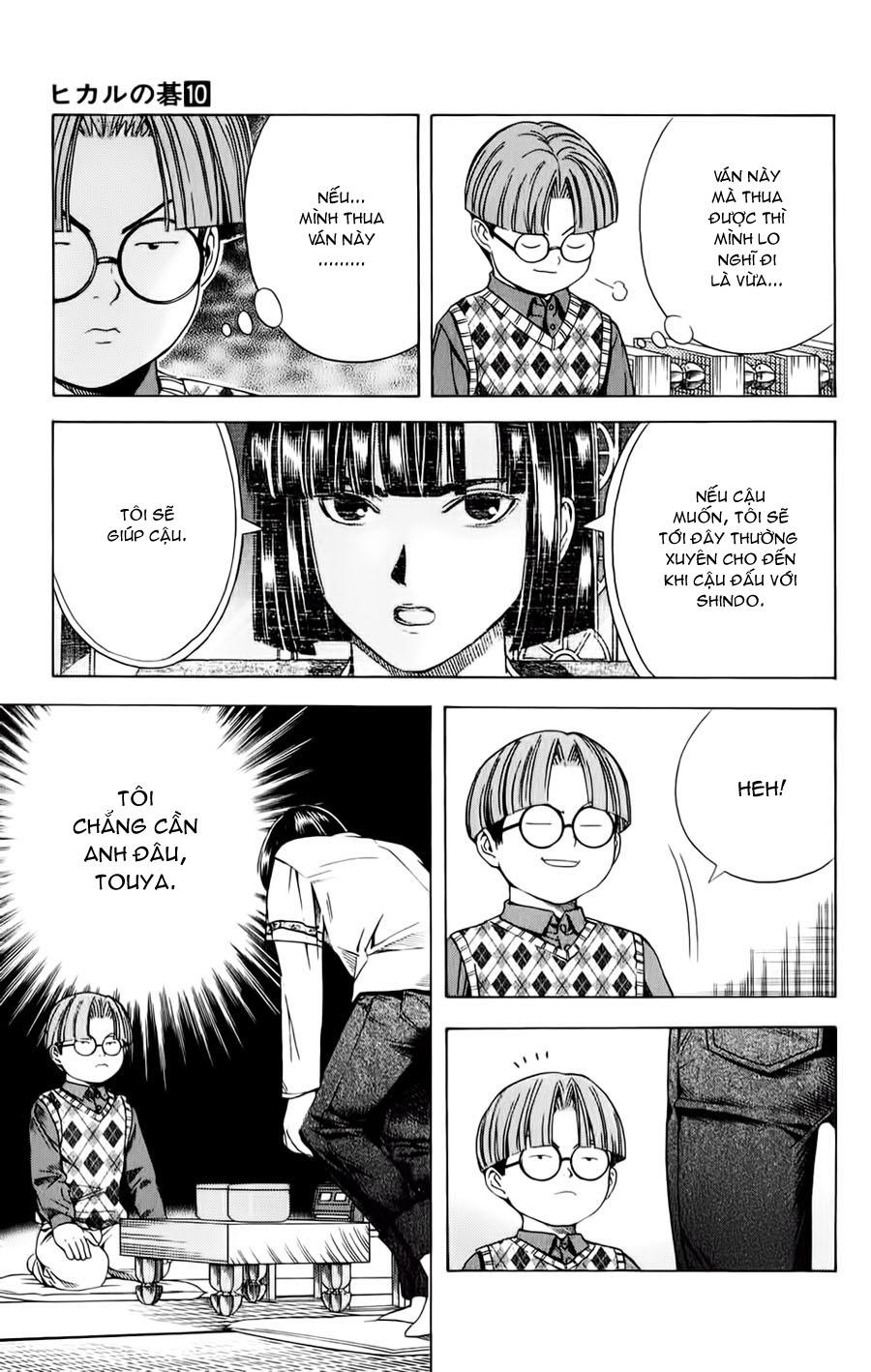 Hikaru No Go hikaru no go chap 84 trang 20