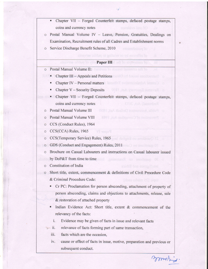 Revision of Pattern & Syllabus for LDCE