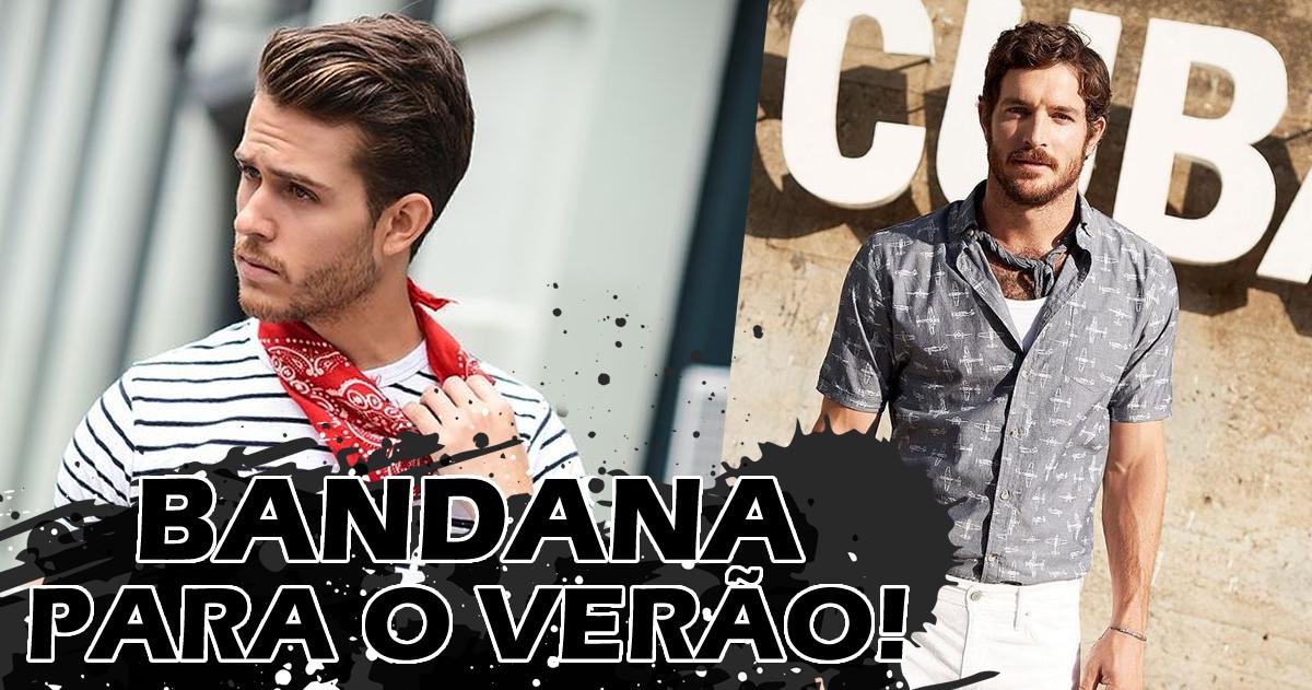 Bandana Looks Masculinos (1)