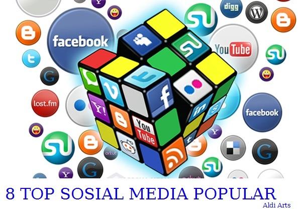 sosial media populer