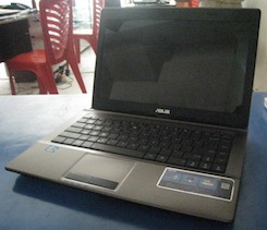 jual laptop 2nd asus x44h core i5