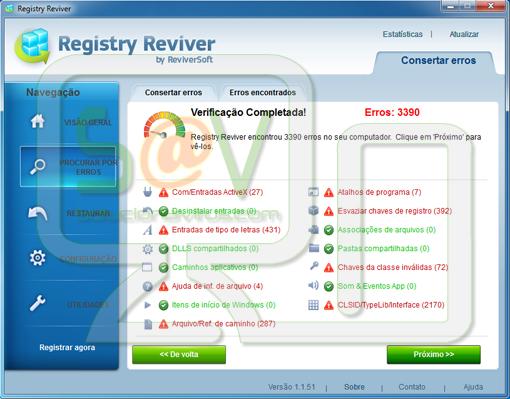 Registry Reviver (Falso optimizador)