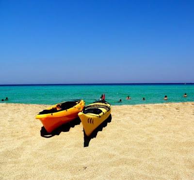 4 Beautiful Beaches on Crete, Greece: Falsarna Beach