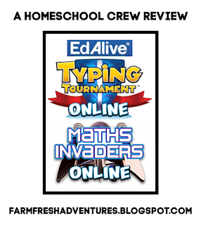 EdAlive: Typing Tournament and Math Invaders Online {Produce Review}