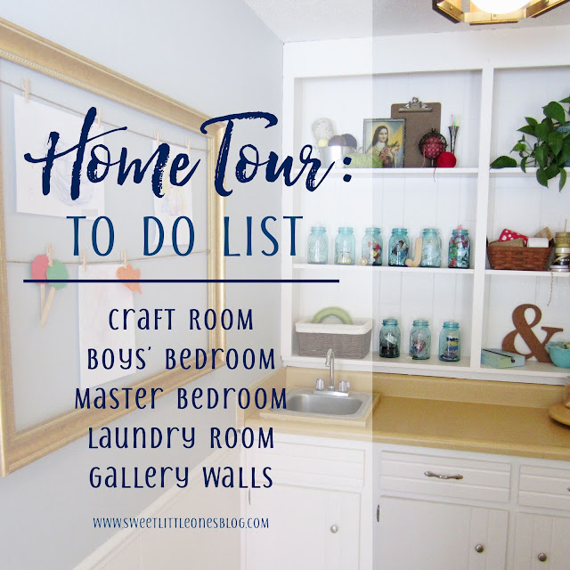 Projects to do around home