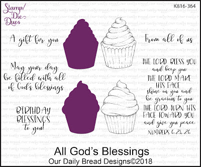Stamp/Die Duos: All God's Blessings