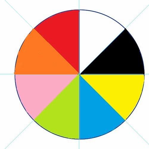 ruleta de colores para inicial