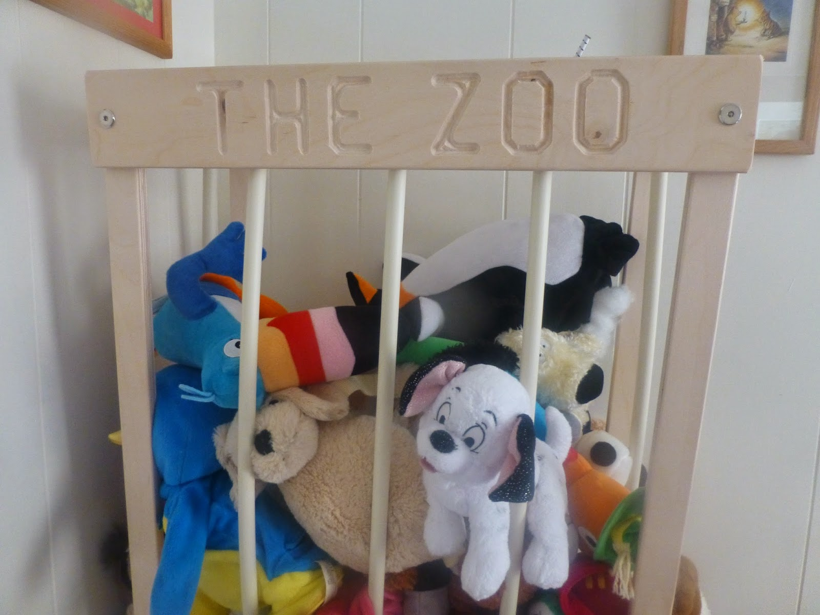 Keep Your Kid S Stuffed Animals All In One Place With The