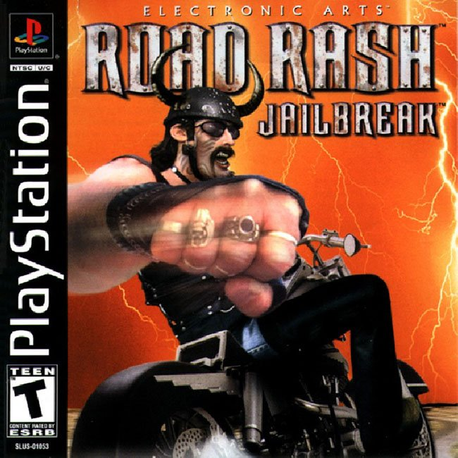 Road Rash - Jailbreak - PS1 - ISOs Download