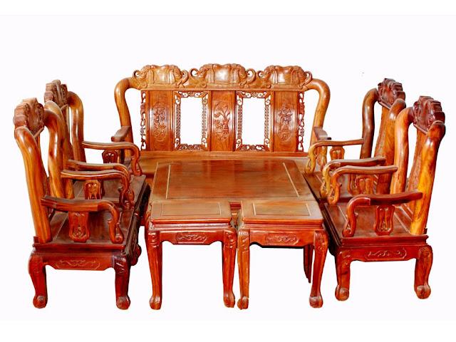 bàn ghế gỗ sồi