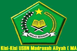 Download Kisi-Kisi USBN MA Tahun 2019