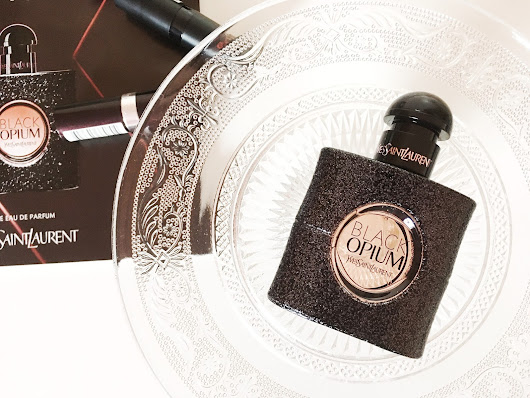 YSL Black Opium with Perfume Click