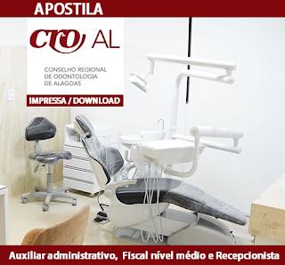 Apostila CRO AL PDF - Auxiliar Administrativo - Grátis CD ROM.