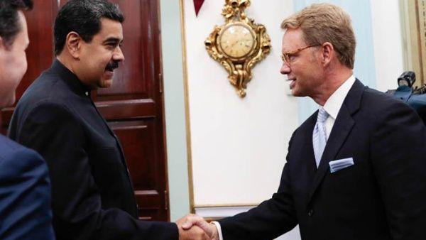 Presidente Maduro se reúne con empresarios estadounidenses