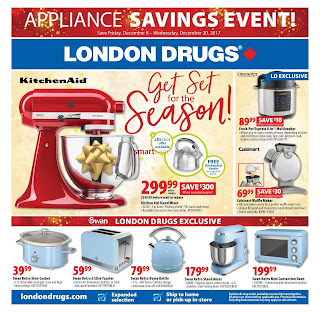 London Drugs Flyer valid Desember 8 - 20 , 2017 Great Deals