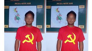 Setelah Di tangkap Pria ini mengaku tak sadar pake kaos PKI - Commando