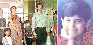 अनिल कपूर और श्रीदेवी के बेटे बने थे.