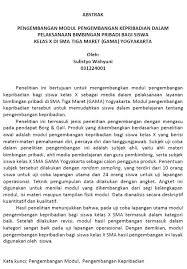 Contoh Laporan Penelitian Dalam Pembuatan Skripsi Pendidikan Dan