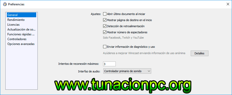 Telestream Wirecast Pro Full Español para Windows